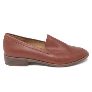 Madewell Sz 8.5 Frances Loafer Cognac Leather
